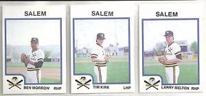 【送料無料】スポーツ メモリアル カード カードカードセーレムバッカニアーズマイナーリーグチームラリーメルトン1987 pro cards 30card m buccaneers minor league team set larry melton