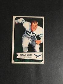 【送料無料】スポーツ メモリアル カード サッカー#1954 bowman football 21 norman willey exmt