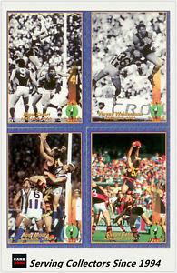 【送料無料】スポーツ メモリアル カード トレーディングカードカードチームアデレードミント1994 select afl cazaly trading card base card team set adelaide 6rareamp;mint