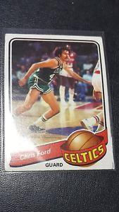 【送料無料】スポーツ メモリアル カード #クリスフォードチームボストンセルティックス197980 topps 124 chris ford team boston celtics