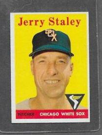 【送料無料】スポーツ メモリアル カード #ジェリー1958 topps baseball 412 jerry staley exmt *6380