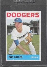 【送料無料】スポーツ メモリアル カード #ボブミラー※1964 topps baseball 394 bob miller exmt *0394c