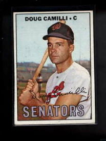 【送料無料】スポーツ メモリアル カード #1967 topps 551 doug camilli exmt d7337