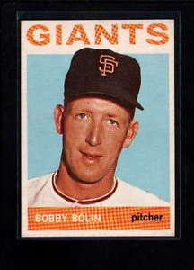 【送料無料】スポーツ メモリアル カード #ボビー1964 topps 374 bobby bolin exmt lc035