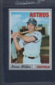 【送料無料】スポーツ メモリアル カード #ミラーアストロズマウント1970 topps 619 norm miller astros nmmt *5450