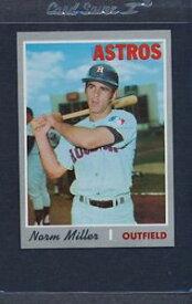 【送料無料】スポーツ メモリアル カード #ミラーアストロズマウント1970 topps 619 norm miller astros nmmt *5595