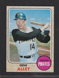 【送料無料】スポーツ メモリアル カード #アレー1968 topps baseball 53 gene alley exmtnrmt inv 1314