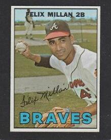【送料無料】スポーツ メモリアル カード #フェリックス1967 topps baseball 89 felix millan rc exmt inv a1046