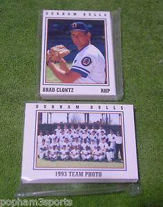 【送料無料】スポーツ メモリアル カード ダラムブルズチームセットヘラルドサンカード1993 durham bulls team set, herald sun, complete 32 cards