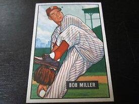 【送料無料】スポーツ メモリアル カード #ボブミラーカードフィラデルフィアフィリーズ1951 bowman 220 bob miller card b17 philadelphia phillies