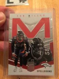 【送料無料】スポーツ メモリアル カード 2018donrussエリートvon miller spellboundmcard299ブロンコ2018 donruss elite von miller spellbound m card 299 broncos