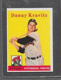 【送料無料】スポーツ メモリアル カード 1958トップスベースボール444ダニークラビッツexmt*60141958 topps baseball 444 danny kravitz exmt *6014