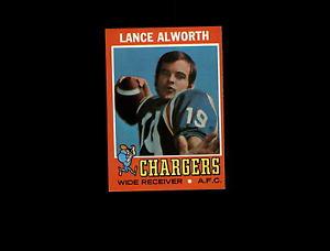 【送料無料】スポーツ メモリアル カード 1971トップス10alworth exmtd5361351971 topps 10 lance alworth exmt d536135
