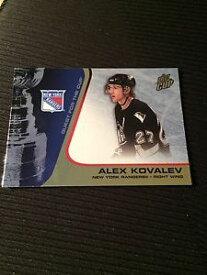 【送料無料】スポーツ メモリアル カード カップ#アレックスパシフィッククエスト200203 pacific quest for the cup 65 alex kovalev 325