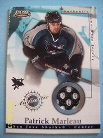 【送料無料】スポーツ メモリアル カード 200203 ゲームジャージー22パトリックmarleau