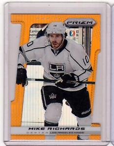 【送料無料】スポーツ メモリアル カード mike richards 1314 panini prizm152オレンジ50 spmike richards 1314 panini prizm 152 refractor diecut orange rainbow 50 sp