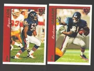 【送料無料】スポーツ メモリアル カード 1997トップスフットボールチームセット chicago bears1997 topps football team set chicago bears