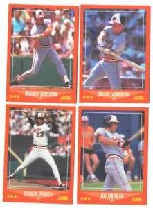 【送料無料】スポーツ メモリアル カード 19888990スコアrctrd baltimore oriolesチームセット1988, 89 amp;90 score rctrd baltimore orioles team set