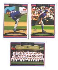 【送料無料】スポーツ メモリアル カード 2006topps texas rangersチームセット2006 topps texas rangers team set