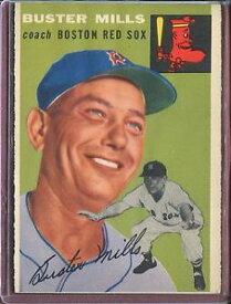 【送料無料】スポーツ メモリアル カード 1954トップス227バスターミルズco rc vgexd2081971954 topps 227 buster mills co rc vgex d208197