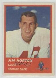【送料無料】スポーツ メモリアル カード #ジムサッカーカード listing1963 fleer 40 jim norton houston oilers football card