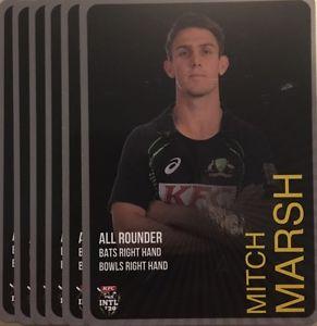 【送料無料】スポーツ メモリアル カード タップカードオーストラリアミッチマーシュ2014 tap n play base card australia t20 mitch marsh