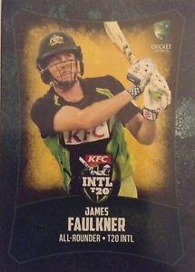 【送料無料】スポーツ メモリアル カード タップ……ジェームズフォークナー2016 tap n play international t20 james faulkner