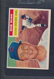 【送料無料】スポーツ メモリアル カード #ボブラッシュカブス1956 topps 214 bob rush cubs vgex *897