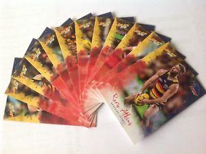 【送料無料】スポーツ メモリアル カード ##アデレードカラスチームafl select 2018 039;footy stars039; adelaide crows complete team set