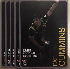【送料無料】スポーツ メモリアル カード タップカードオーストラリアカミンズ2014 tap n play base card australia t20 pat cummins