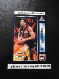 【送料無料】スポーツ メモリアル カード ダイナミックカードゲイリー#ドンネル1994 dynamic alfpa card 30 gary o039;donnell essendon