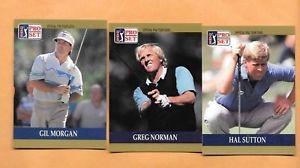 【送料無料】スポーツ メモリアル カード golf cards1990 proset pga tour special inaugural set1100golf cards1990 proset pga tour special inaugural set 1100