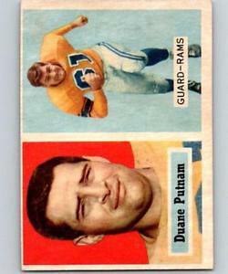 【送料無料】スポーツ メモリアル カード #デュアンサッカーララムビンテージhcw 1957 topps 87 duane putnam football nfl rc rookie la rams vintage 04405
