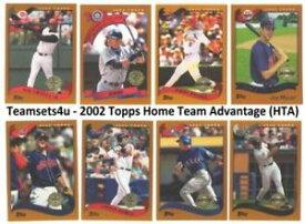 【送料無料】スポーツ メモリアル カード 2002トップスチームhtabeisbol equipo juegos elige tuequipoセット2002 topps home team advantage hta bisbol equipo juegos elige tu eq