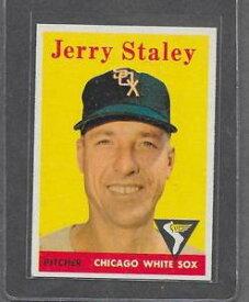 【送料無料】スポーツ メモリアル カード 1958トップス412ジェリーステーリーexmt*66821958 topps baseball 412 jerry staley exmt *6682