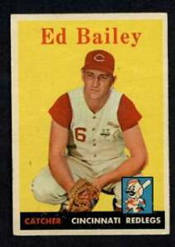 【送料無料】スポーツ メモリアル カード 1958トップス330エドベイリーexexレッズa31421958 topps 330 ed bailey exex reds a3142