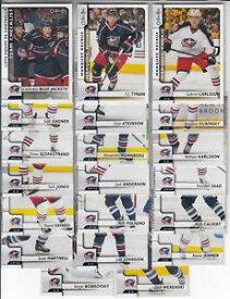 【送料無料】スポーツ メモリアル カード 1718opcコロンブスジャケットチームセットwチェックリストrc タイナンカールソン