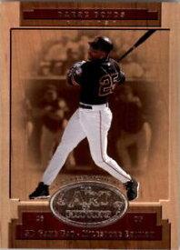 【送料無料】スポーツ メモリアル カード ah12バリーボンズ2001spゲームバットマイルストーン nmmt2001 sp game bat milestone art of hitting ah12 barry bonds nmmt