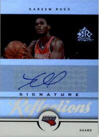 【送料無料】スポーツ メモリアル カード シグネチャカリームラッシュオート200506 reflections signatures ka kareem rush auto nmmt
