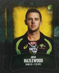 【送料無料】スポーツ メモリアル カード タップカードオーストラリアジョシュ2016 tap n play base card australia t20 josh hazlewood