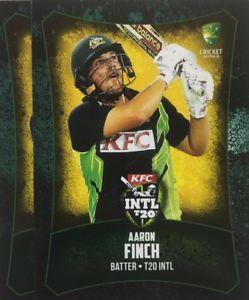 【送料無料】スポーツ メモリアル カード タップカードオーストラリアアーロンフィンチ2016 tap n play base card australia t20 aaron finch