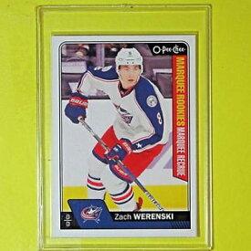 【送料無料】スポーツ メモリアル カード zach werenski 1617 rookieopc marquee678コロンブスジャケット