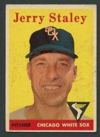 【送料無料】スポーツ メモリアル カード #ジェリーホワイトソックス1958 topps 412 jerry staley exex white sox 24429