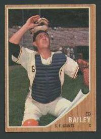 【送料無料】スポーツ メモリアル カード #エドベイリー1962 topps 459 ed bailey exex giants 21526