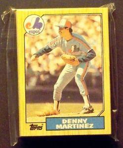 【送料無料】スポーツ メモリアル カード モントリオールエクスポス1987トップスチーム29カードセットmontreal expos 1987 topps team set 29 cards