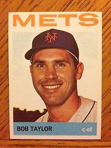 【送料無料】スポーツ メモリアル カード 1964topps set break381 bob taylor york metsnrmt1964 topps set break 381 bob taylor, york mets, nrmt