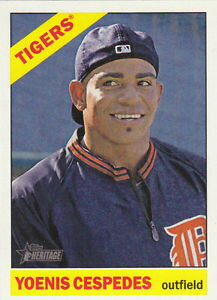 【送料無料】スポーツ メモリアル カード 2015detroit tigersチームw19yoenis cespedesセット2015 heritage detroit tigers team set w high numbers 19 yoenis cespedes