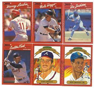 【送料無料】スポーツ メモリアル カード listing1990 donruss complete 716baseball plus puzzle set mint listing1990 donruss complete 716 baseball plus puzzle set m