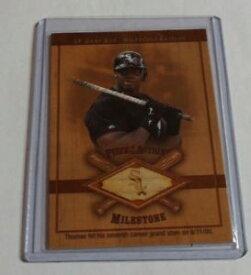 【送料無料】スポーツ メモリアル カード listingfrank thomasgame used bat white sox 2001sp game bat milestone edition listingfrank thomas 2001 sp game bat milest