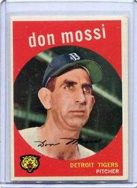 【送料無料】スポーツ メモリアル カード ミント3021959トップスベースボールカードドンモシピッチャーデトロイトタイガース1959 topps baseball card don mossi pitcher detroit tigers near mint 302